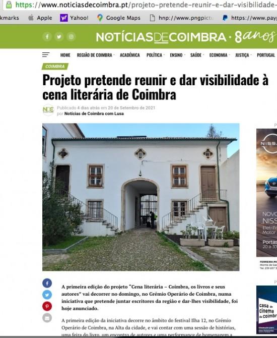 Cena Literária 1_Notícias de Coimbra