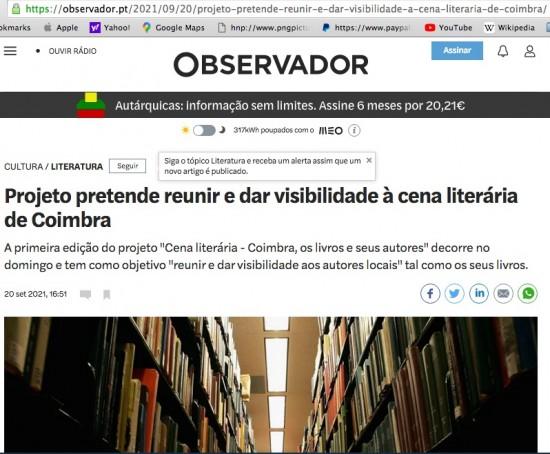 Cena Literária_O Observador