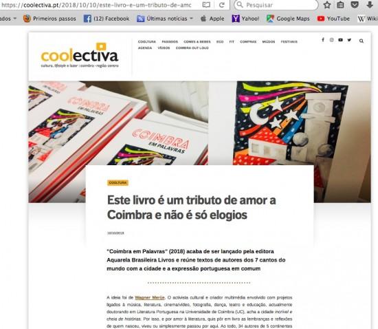 Coolectiva_Coimbra em palavras