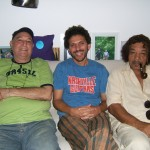 João Donato, Wagner Merije, Raul de Souza - Rio de Janeiro - 2008 - Foto: Roberta Scatolini