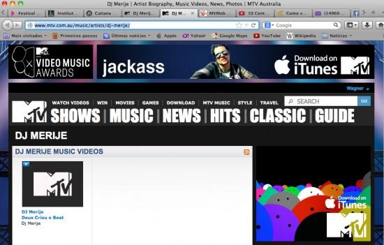 DJ Merije_MTV Australia