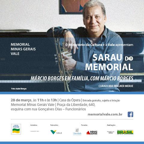 Sarau com Marcio Borges