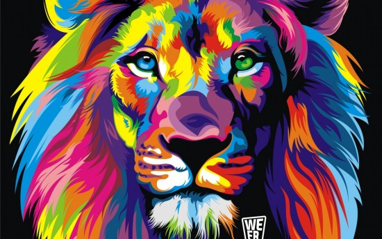 animals-artistic-artwork-lions-multicolor-1280x800