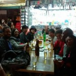Poetas e amigos no Bar 020316