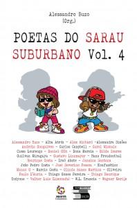 Poetas do Sarau Suburbano vol 4_capa