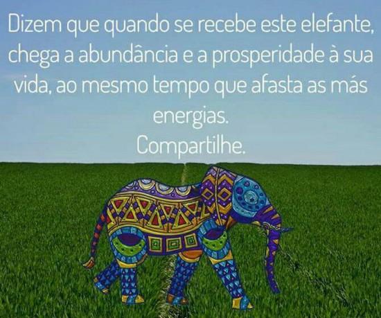 O elefante e a prosperidade
