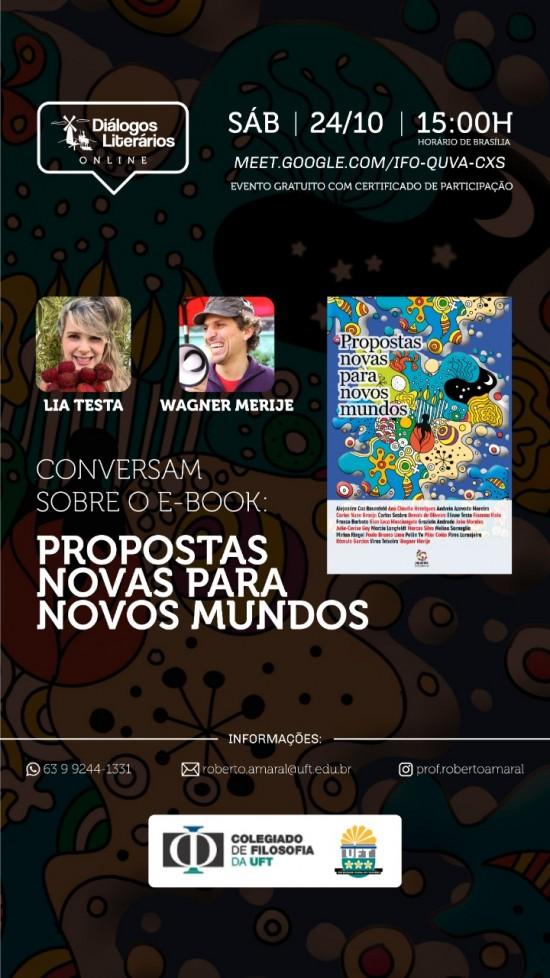 Diálogos Literários Online_Propostas_Wagner Merije_Lia Testa