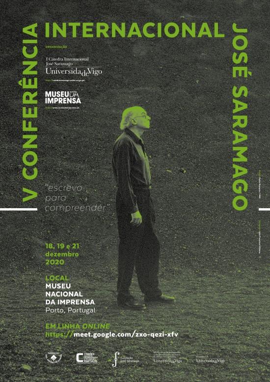 V Conferência Internacional José Saramago_2020_Cartaz